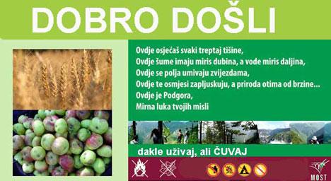 Slogan Eko sela Podgora