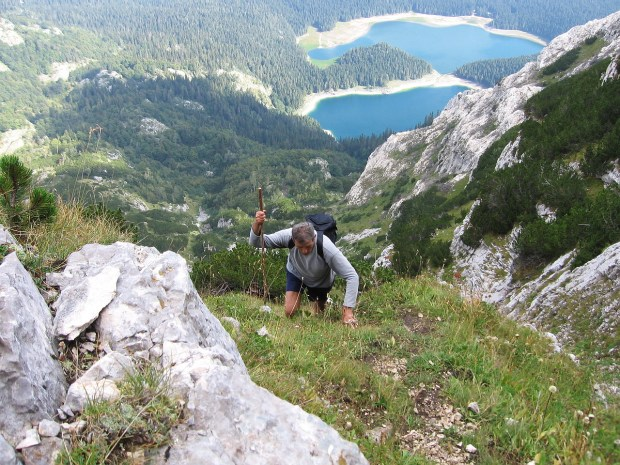 Usopn na Mali Medjed - Durmitor / Crno jezero