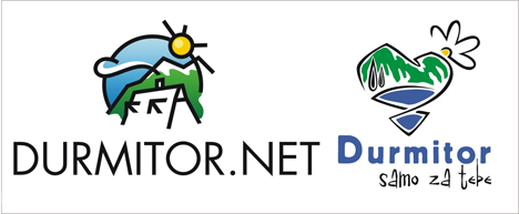 Logo durmitor.net i logo festivala odrzivog turizma