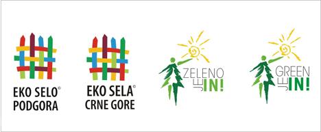 """Logoi Eko sela Crna Gore, kampanja """"Zeleno je in"""""""