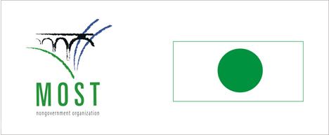 Logo Mosta, Ekoloska zastava