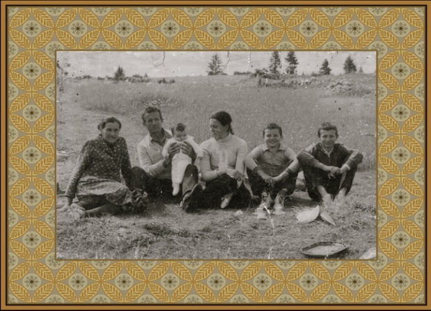 Porodica...Lenka, Trifun, Ivan, Marina, Sinisa, Ljubisa... Osamdesete