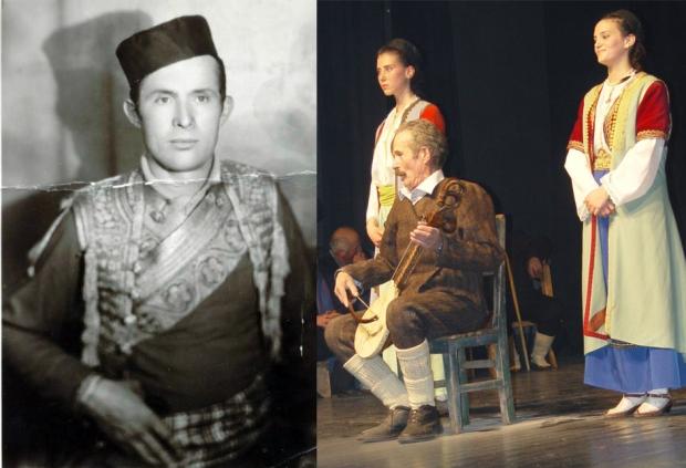 Trifun Stevovic - Durmitorac / U pozoristnoj predstavi u Niksiću 2008 godine